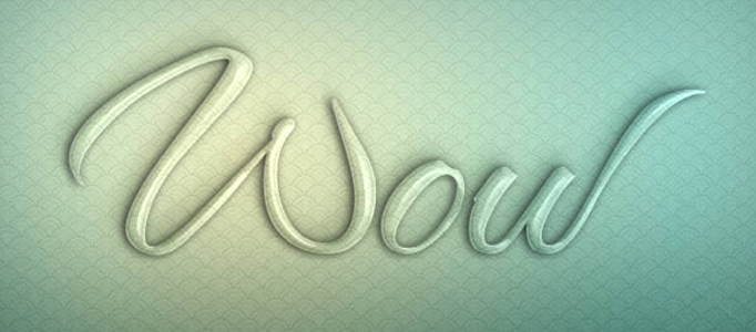 Create a Transparent Text Effect in Photoshop