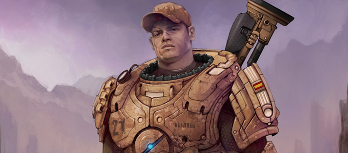 Drawing a Proper Soldier using Photoshop