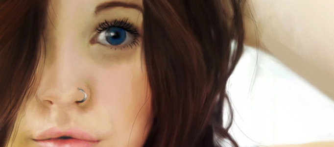 Painting Skills for a Lady Portrait