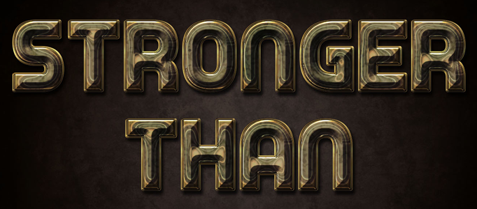 3D Shining Text Effect in Photoshop