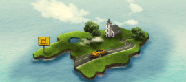 3D Road Map Creation