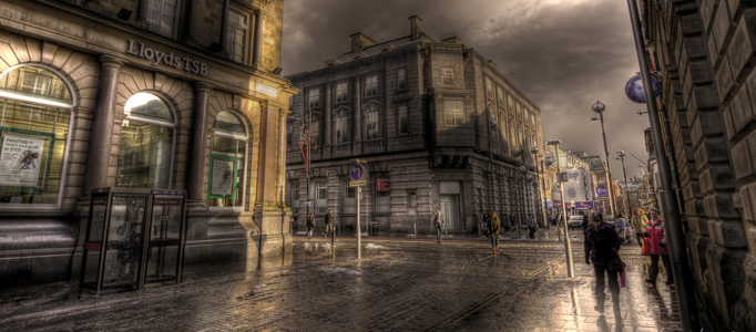 Forming a HDR Photo for a Style Street