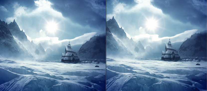 Photo Manipulation for a Nice Snow Village