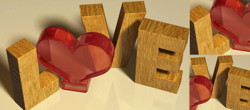 Making a Word Art for Valentine's Day