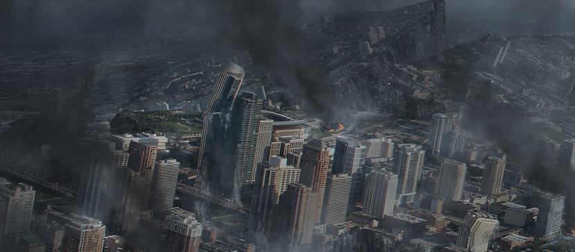 Create a Shocking Disaster Scene in Photoshop