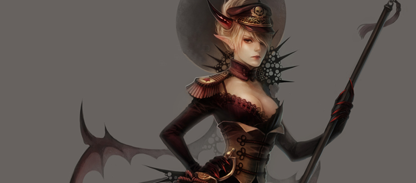Coloring Process for a Female General
