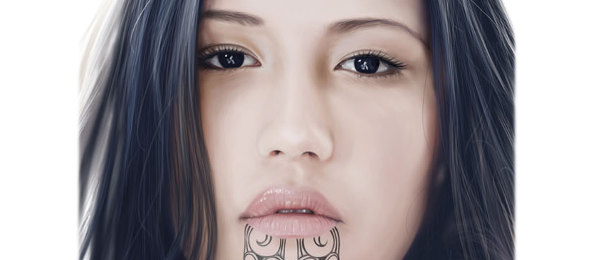 How to Draw a Realistic Lip in Photoshop