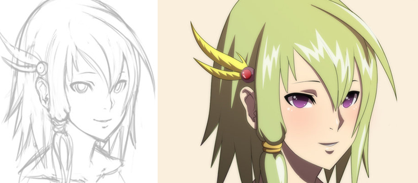 Tips for Simple Anime Painting in Photoshop