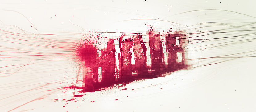 Design a Great Hairy Text Effect