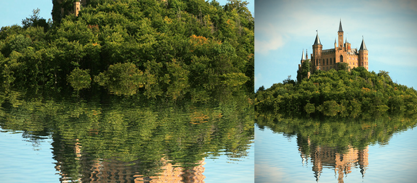 Make a Water Reflection in a Simple Way