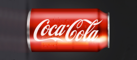 Design a 3D Can of Coke