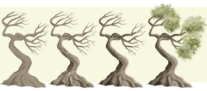 How To Make Trees In An Easy Way Photoshop Lady