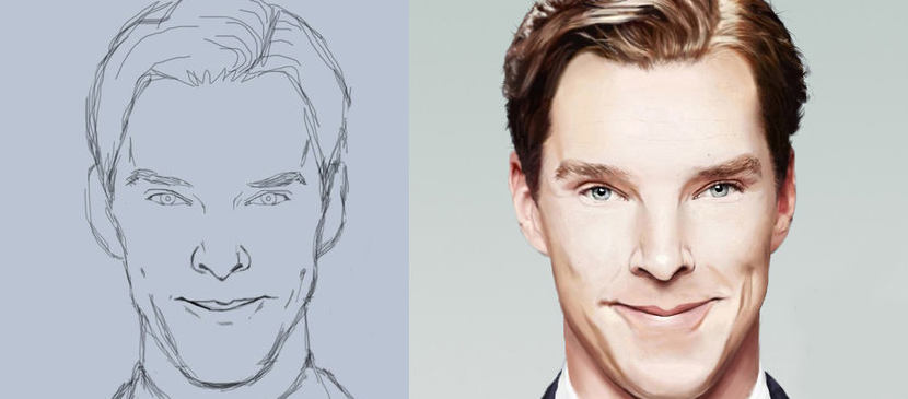 Making a Realistic Male Portrait