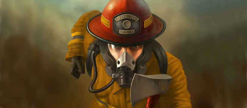 Making a Bravery Fire Fighter Digitally