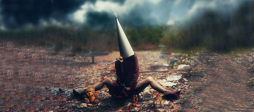Photo Manipulation for a Conceptual Artwork