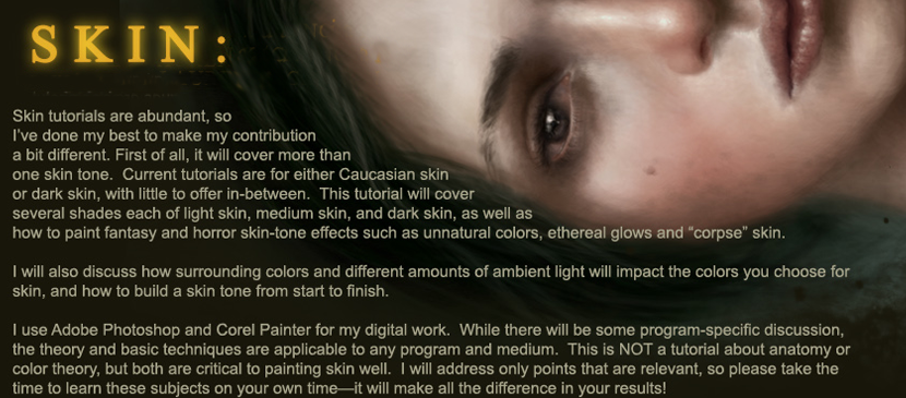 Wonderful Painting Tutorial for Human Skins