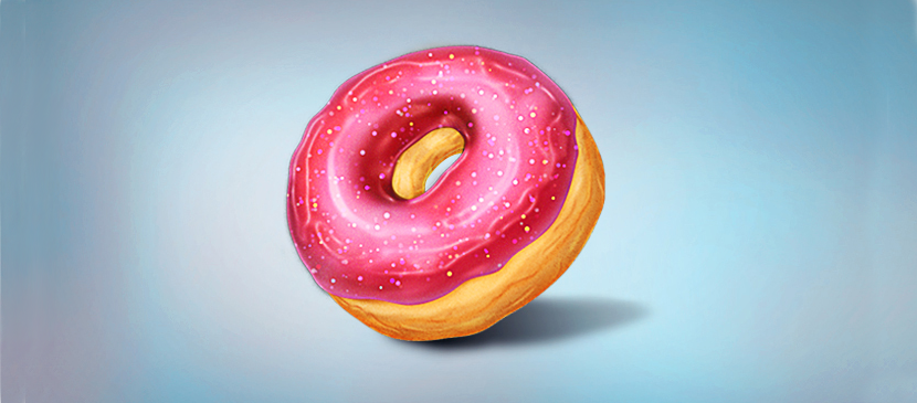 Make a Tasty Donut in Photoshop