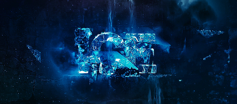 Create an Icy Text Effect using Photoshop