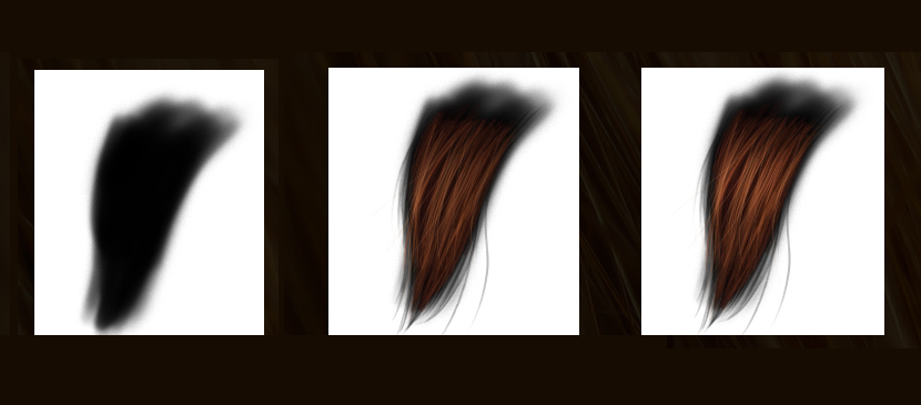 Simply Making Realistic Hair in Photoshop