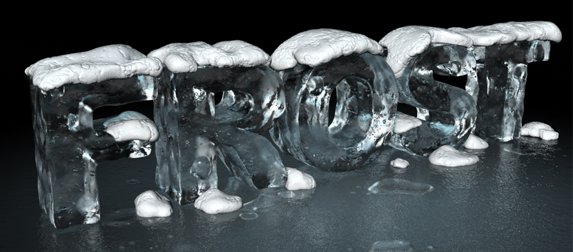 Making a 3D Ice Effect for Text in Photoshop