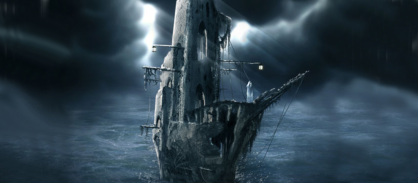 Making a Horrific Ghost Ship in Photoshop