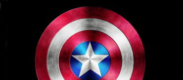 Design a Dramatic Captain America Symbol