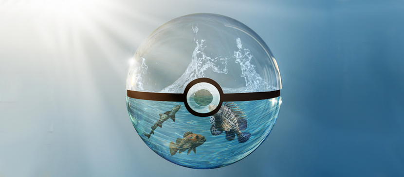 Create a Transparent Ocean Ball for Fishes