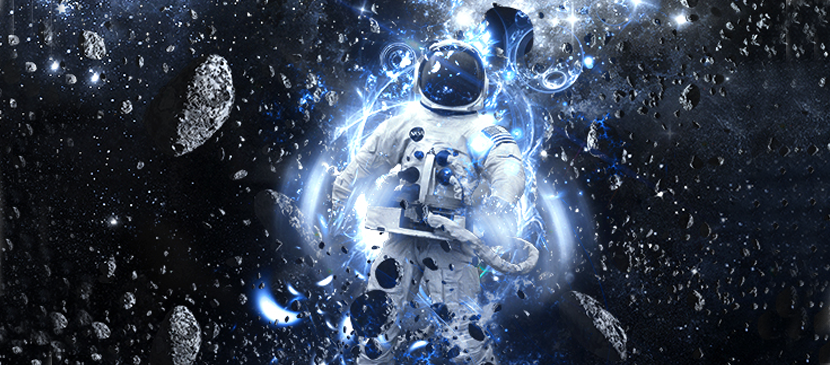 Making a Space Astronaut Scene in Photoshop