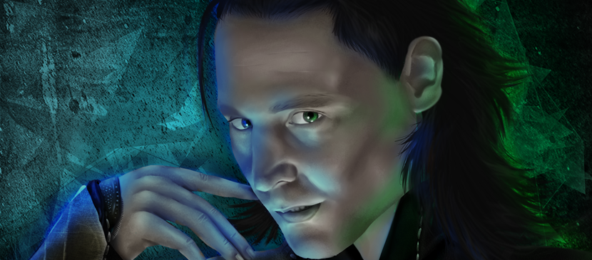 Painting a Realistic Portrait for Loki