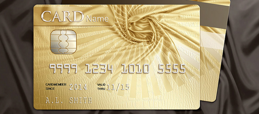Making a Golden Credit Card
