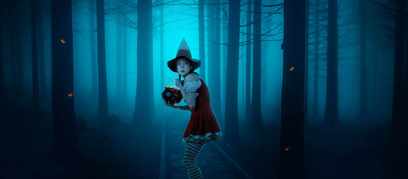 Manipulating a Witch in a Forest