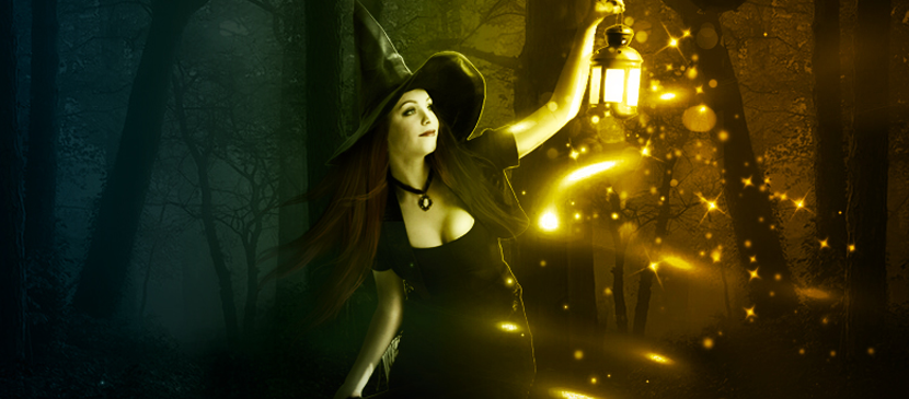 Manipulating an Awesome Witch Scene