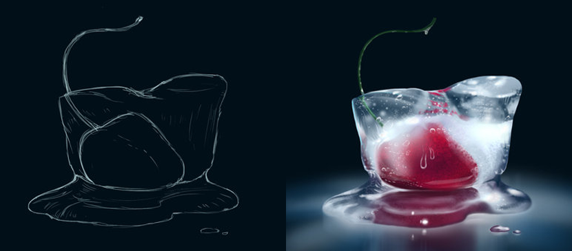 Making a Realistic Icy Fruit