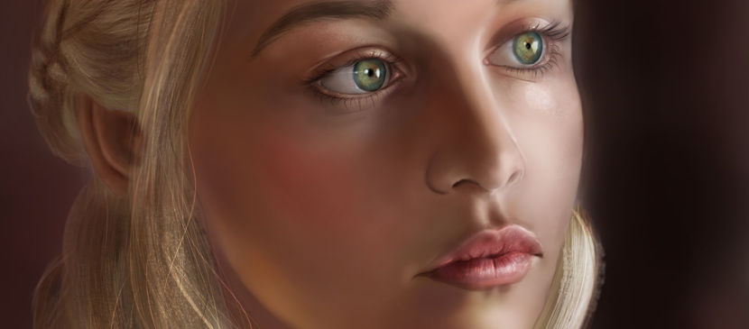 Nice Painting Tutorial for a Beautiful Lady Portrait