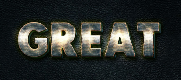 How to Make a Metallic Text Effect