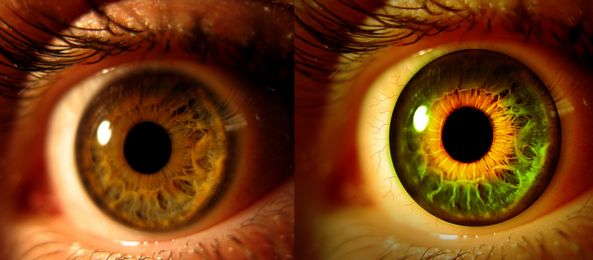 Manipulation of Different Color for your Eye