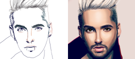Step by Step to Make a Cool Teenager Portrait
