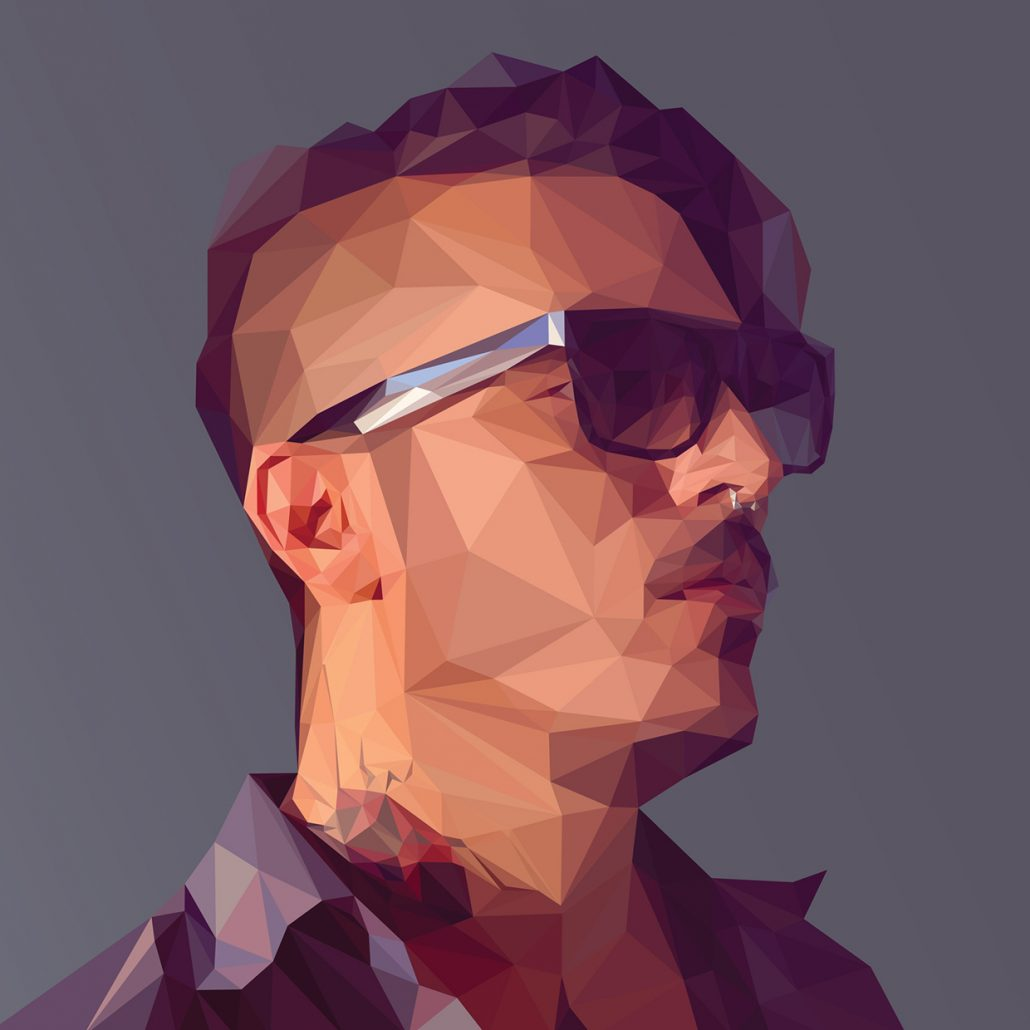 Low-poly Self Portrait Photoshop Tutorial-1
