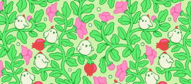 Enjoy and Create a Detailed, Illustrative, Seamless Pattern