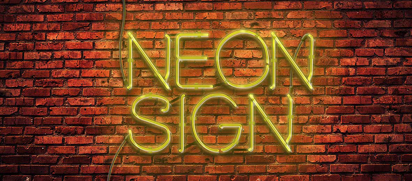 Create a Neon Texts Along the Street Effect