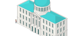 Try to Create an Isometric Pixel Art City Hall