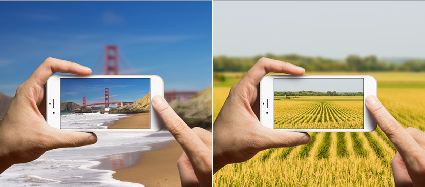Create a Camera Phone Mock-Up Using Photoshop Smart Filters