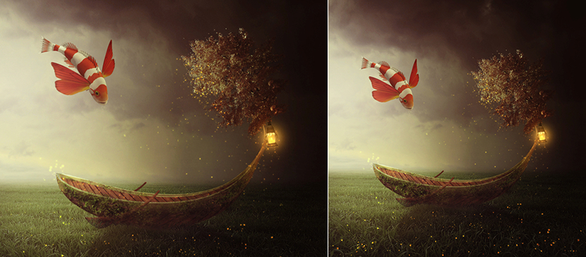 Easy Create a Fantasy Boat Scene Photo Manipulation