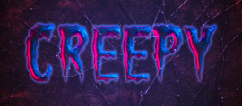 How to Create a Creepy Halloween Text Effect