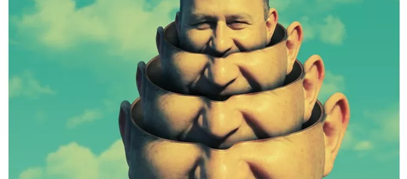 Create Surreal Head Stack Photo Manipulation