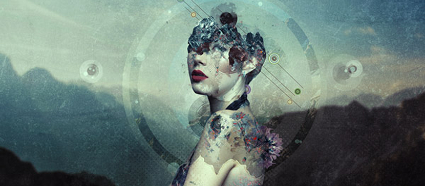 Create an Abstract Portrait Photo Manipulation