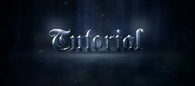 Create an Epic Metal Text Effect From Scratch