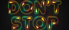 How to Create a Colorful Retro Text Effect