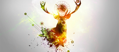 How to Create a Deer Abstraction With Photoshop