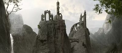 How to Create a Mountainous Matte Painting